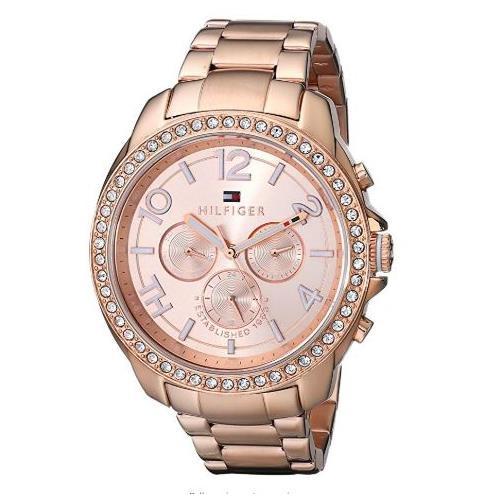 Tommy Hilfiger Women's 1781466 Analog Display Quartz Rose Gold Watch