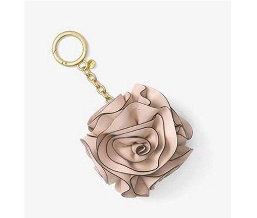 MICHAEL Michael Kors Origami Rose Leather Key Chain 32S8GF3K1Y-187 …