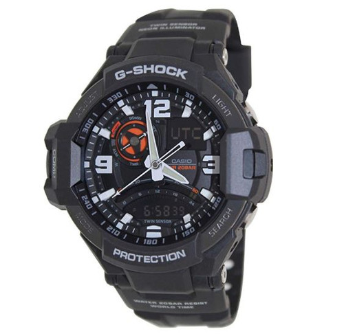 Casio G-Shock GA-1000-1A Aviation Series Men's Luxury Watch - Black / One Size …