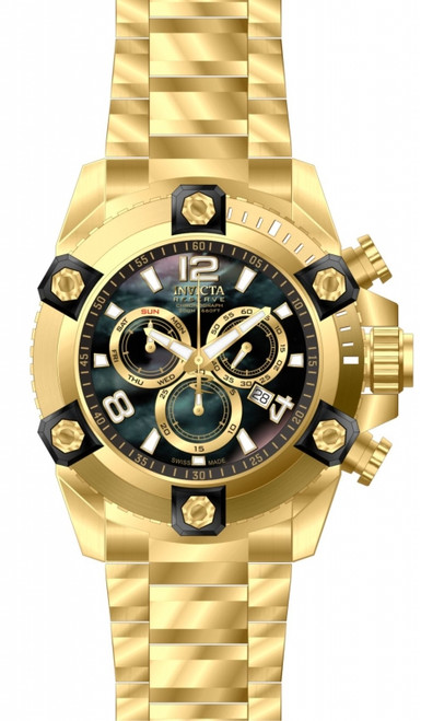 Invicta Men's 15827 Reserve Quartz Chronograph Black Dial Watch