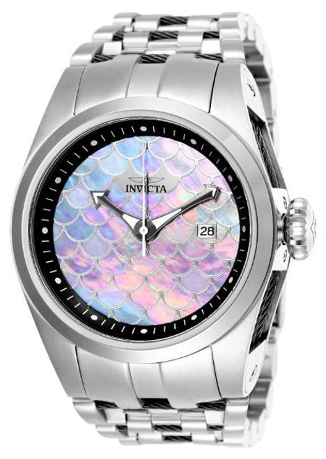 Invicta Unisex 25119 Bolt Automatic Chronograph White, Dark Grey, Grey Dial Watch