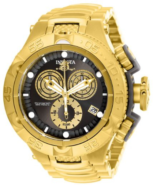 Invicta Men's 27676 Subaqua Quartz Chronograph Gold, Gunmetal Dial Watch