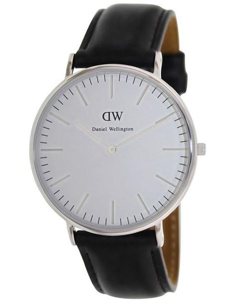 Daniel Wellington Men's 0206DW Sheffield Analog Display Quartz Black Watch