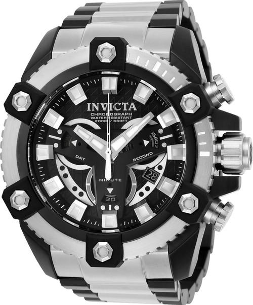 Invicta Men's 25583 Coalition Forces Quartz Multifunction Black Dial Watch