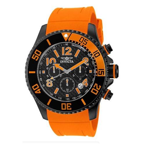 Invicta Men's 13733 Pro Diver Quartz Chronograph Black Dial Watch