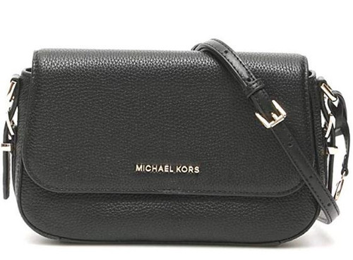 MICHAEL by Michael Kors Bedford Legacy Black Leather Crossbody Bag one size Black 32F9G06C7L-001