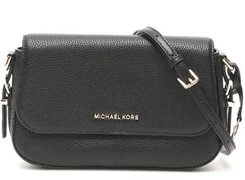 MICHAEL by Michael Kors Bedford Legacy Black Leather Crossbody Bag one size Black 32F9G06C7L-001