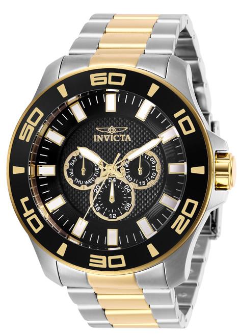 Invicta Men's 27984 Pro Diver Quartz Chronograph Black Dial Watch