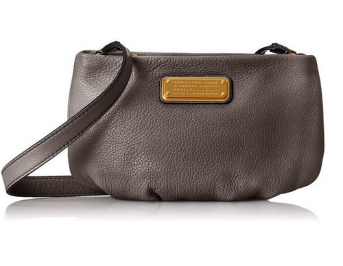 Marc by Marc Jacobs New Q Percy Cross Body Bag, Faded Aluminum, One Size …