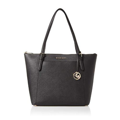 Michael Kors Ciara LG Tote Bag Leather Black (35T8GC6T9L-001)