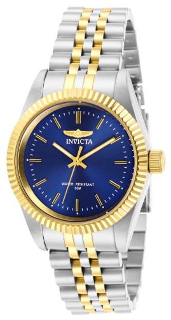 Invicta Lady 29403 Specialty Quartz 3 Hand Blue Dial Watch