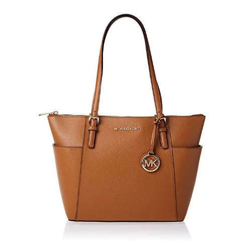 Michael Kors Womens Jet Set Item Tote Brown (ACORN) 30F2GTTT8L-203
