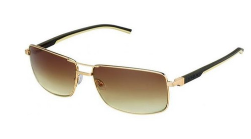 Tag Heuer Automatic 0883 Sunglasses 204 Gold/Grad Brown New
