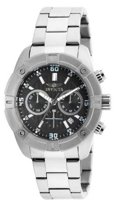 Invicta Men's 21466 Specialty Quartz Multifunction Black Dial Watch