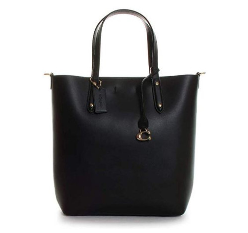 COACH Central Shopper Tote Black/Gold One Size78217-GDBLK