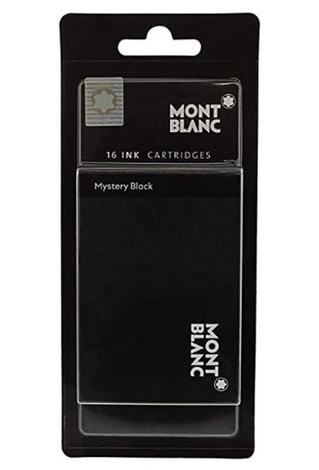 Montblanc Mystery Black Ink Cartridge Refill 106943