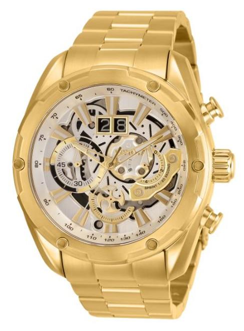 Invicta Men's 30038 Speedway Quartz Chronograph Silver Dial Watch