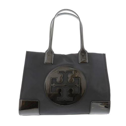 Tory Burch Ella Patent Mini Tote Black 60979-001