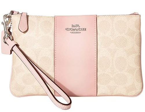COACH Small Wristlet Lh/Sand Aurora One Size 32445-LHPXN