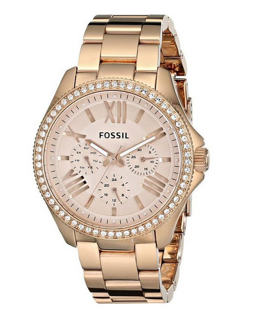 Fossil AM4483 Womens Cecile Wrist Watches [Watch] Fossil