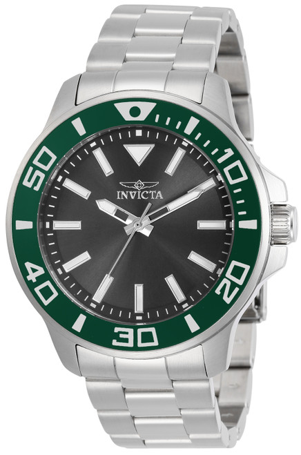 Invicta Men's 30746 Pro Diver Quartz Multifunction Charcoal Dial Watch