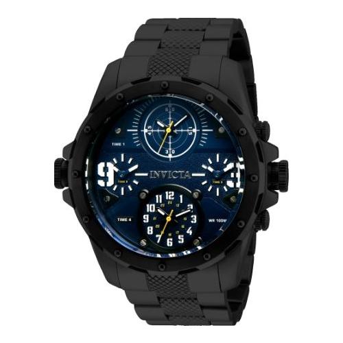 Invicta Men's 31145 Coalition Forces Quartz Multifunction Blue Dial Watch