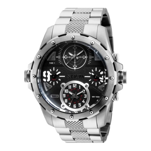 Invicta Men's 31146 Coalition Forces Quartz Chronograph Black Dial Watch