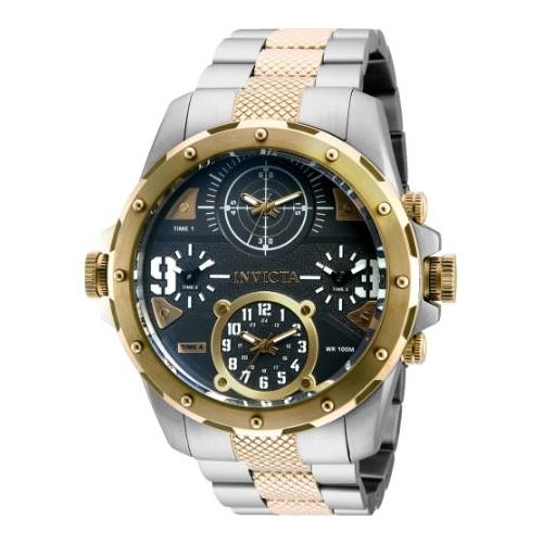 Invicta Men's 31148 Coalition Forces Quartz Chronograph Black Dial Watch