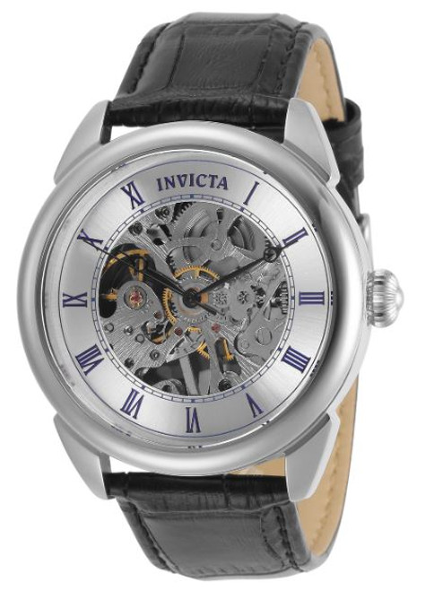 Invicta Men's 31153 Specialty Mechanical 3 Hand Silver Dial Watch