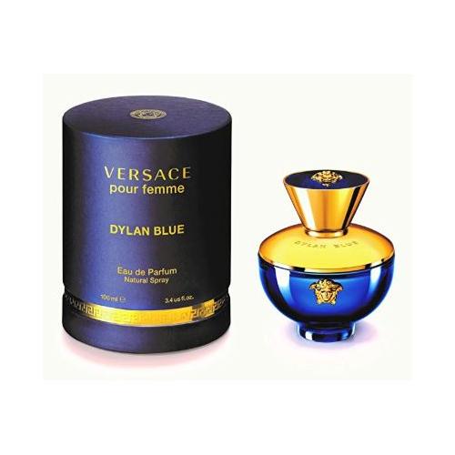 Versace Versace Dylan Blue Pour Femme 3.4 Oz Eau De Parfum Spray, 3.4 Oz 1300721010