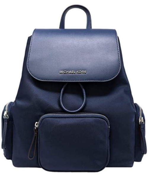 Michael Kors Abbey Large Cargo Backpack (Navy)  35H9SAYB3C-406