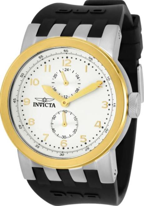 Invicta Men's 31783 DNA Quartz Chronograph Antique Silver Dial Watch