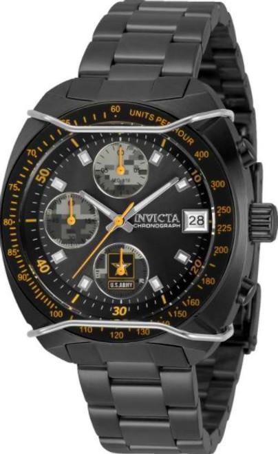 Invicta Women's 31844 Army Quartz Multifunction Grey, Camouflage Dial Watch