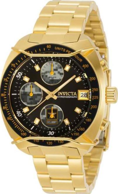 Invicta Women's 31845 Army Quartz Chronograph Black, Camouflage Dial Watch