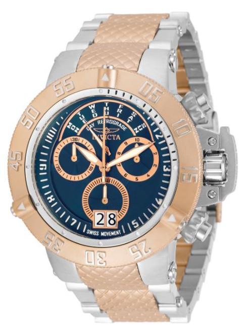 Invicta Men's 31884 Subaqua Quartz Chronograph Blue Dial Watch