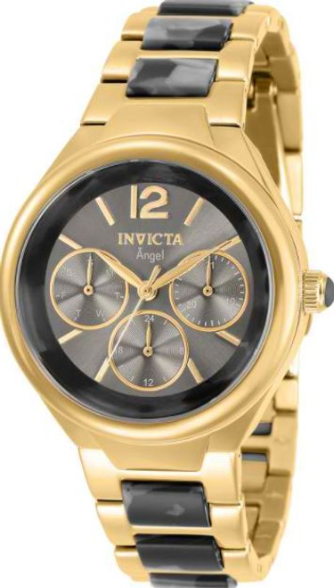 Invicta Women's 32075 Angel Quartz 0 Grey Dial Watch