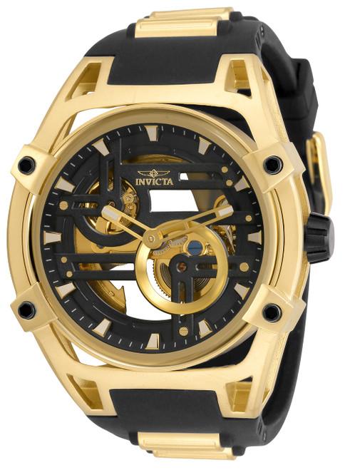 Invicta Men's 32349 Akula Automatic Multifunction Black Dial Watch