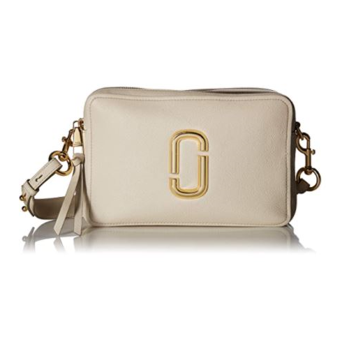 Marc Jacobs Women's The Softshot 27 Bag, Cream, Off White, One Size …