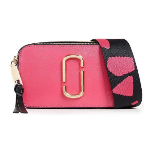 Marc Jacobs Women's Snapshot Crossbody Bag, Peony, Pink, One Size