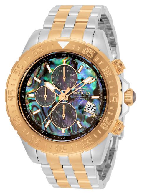 Invicta Men's 33577 Aviator Quartz Multifunction Green, Blue, Black Dial Watch