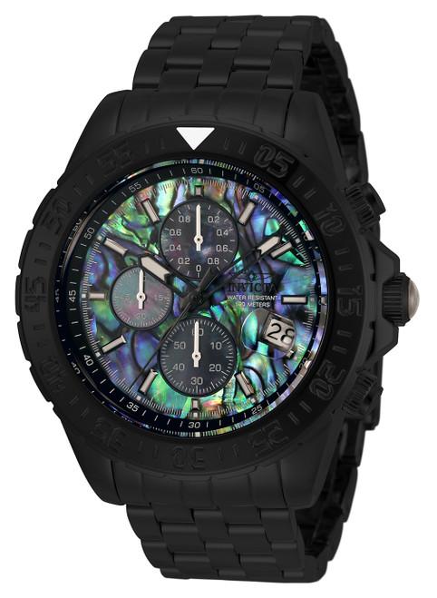 Invicta Men's 33579 Aviator Quartz Multifunction Green, Blue, Black Dial Watch