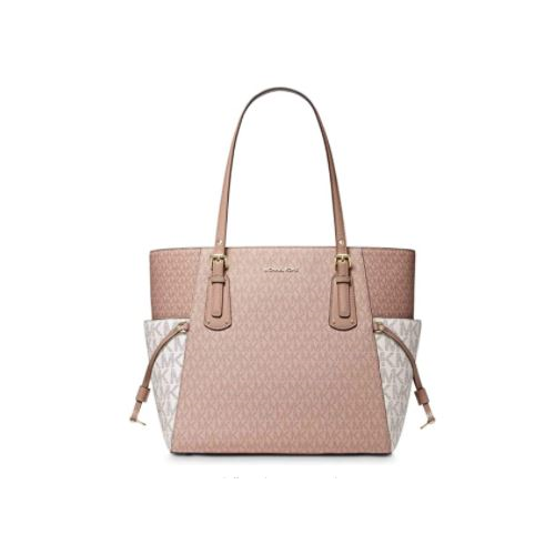 MICHAEL by Michael Kors Voyager Colour-Block Logo Tote Bag Colour-block Pink One Size