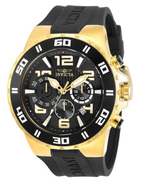 Invicta Pro Diver Chronograph Quartz Black Dial Men's Watch 30939 …