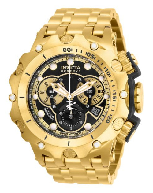 Invicta Men's 27794 Reserve Quartz Chronograph Black Dial Watch