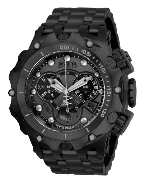 Invicta Men's 27795 Reserve Quartz Chronograph Gunmetal Dial Watch