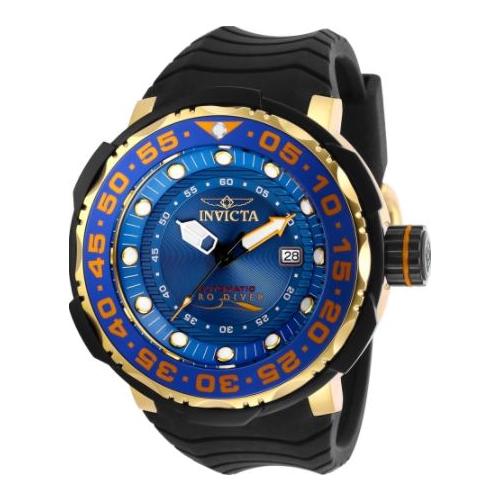Invicta Men's 28784 Pro Diver Automatic 3 Hand Blue Dial Watch
