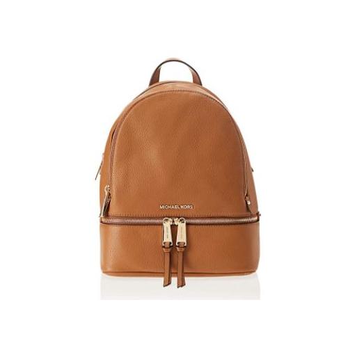 Michael Kors Women's Backpack Handbag, Brown (Acorn), 27x13x31 cm (W x H x L) …