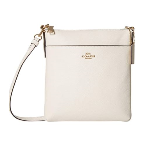 COACH Crossgrain Messenger Crossbody Chalk/Gold One Size