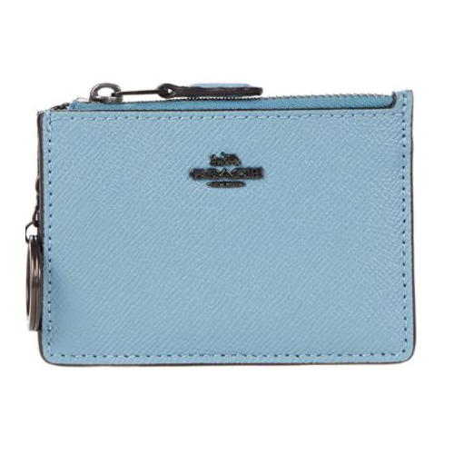 COACH Box Program Crossgrain Mini ID Skinny V5/Azure One Size