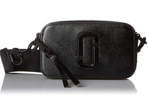 Marc Jacobs Women's Snapshot DTM Camera Bag, Black, One Size …